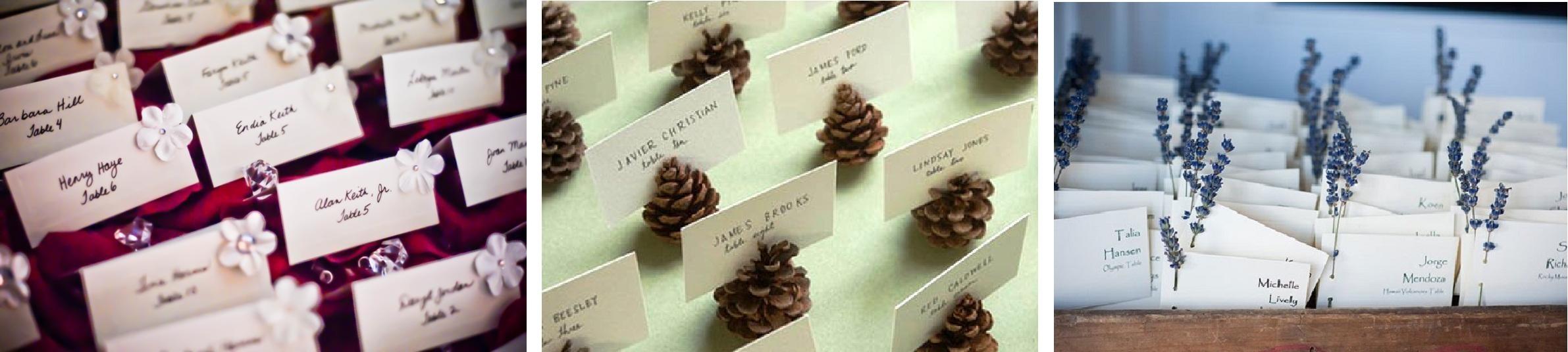Делаем карточки для рассадки гостей на свадьбе 53