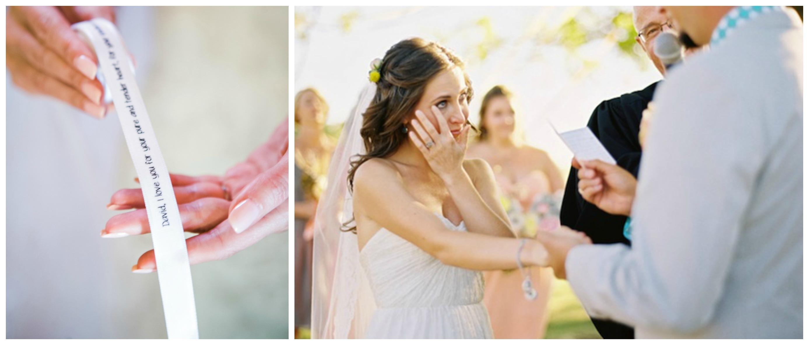Что читают во время свадьбы